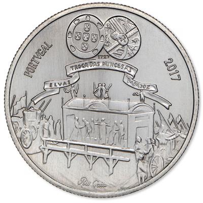 5€ PORTUGAL 2017 - D. Maria Bárbara