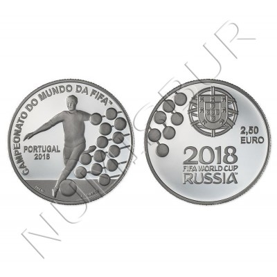 2,5€ PORTUGAL 2018 - Fifa World Cup Russia