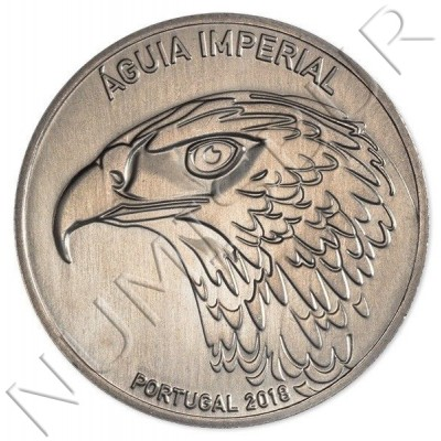 5€ PORTUGAL 2018 - Imperial Eagle