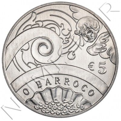 5€ PORTUGAL 2018 - The Baroque Age