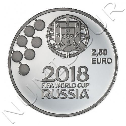 2,5€ PORTUGAL 2018 - Mundial futbol Rusia