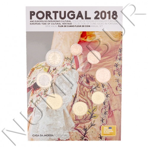Euroset PORTUGAL 2018 - FDC