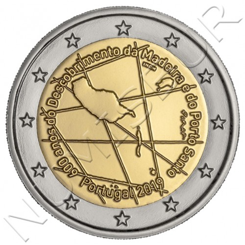 2€ PORTUGAL 2019 - 600 Years Of Discovery Of Madeira And Porto Santo