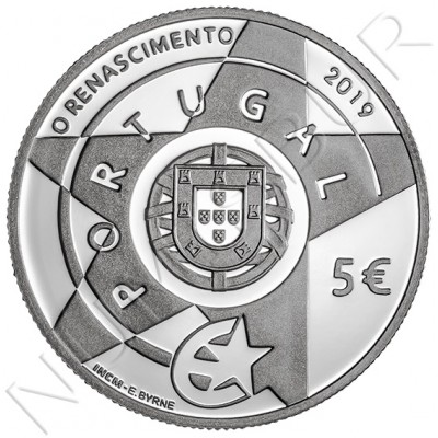 5€ PORTUGAL 2019 - The Renaissance
