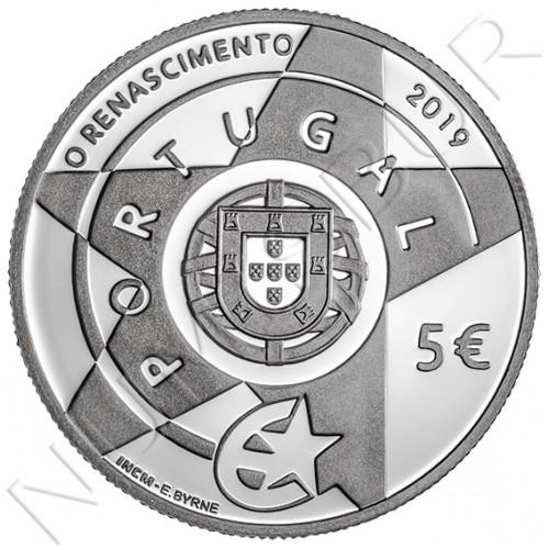 5€ PORTUGAL 2019 - The Renaissance
