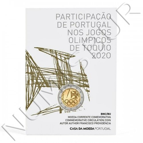 2€ PORTUGAL 2021 - Portuguese participation in the Olympic Games (BU)