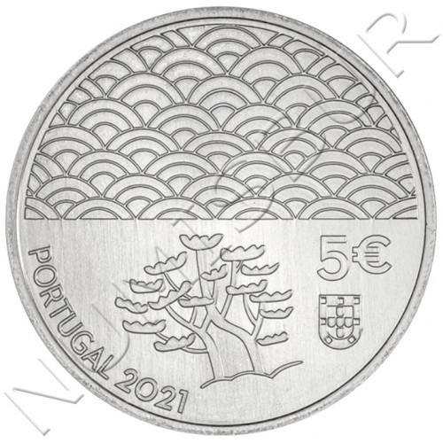 5€ PORTUGAL 2021 - Arte da Laca