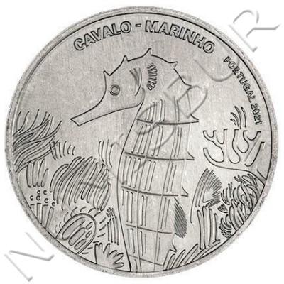 5€ PORTUGAL 2021 - Sea Horse