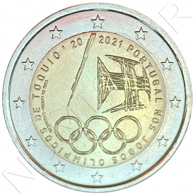 2€ PORTUGAL 2021 - Portuguese participation in the Olympic Games