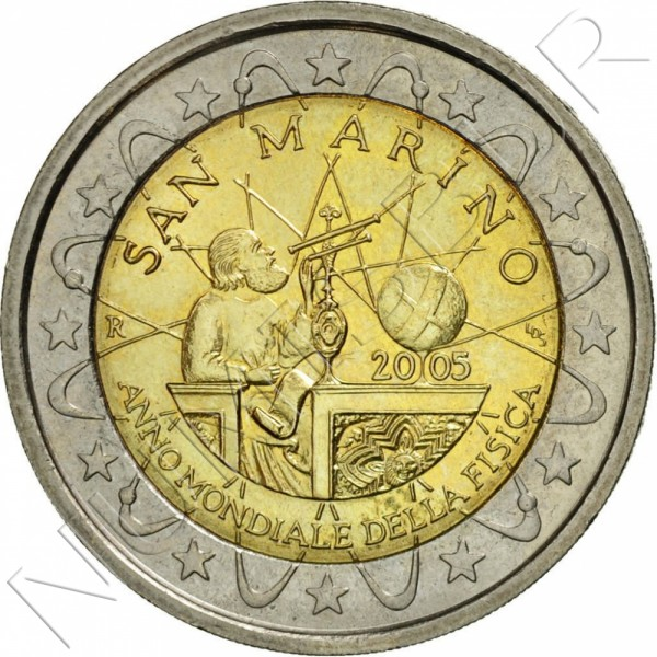 2€ SAN MARINO 2005 - Galileo Galilei (SIN BLISTER)