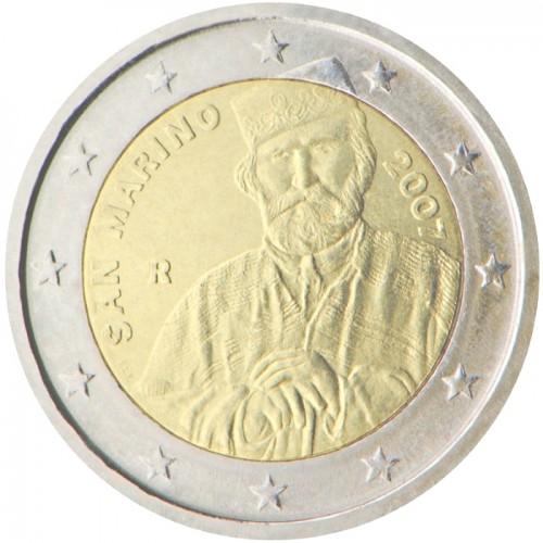 2€ SAN MARINO 2007 - Giuseppe Garibaldi (SIN BLISTER)