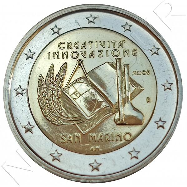 2€ SAN MARINO 2009 - Year of creativity (SIN BLISTER)