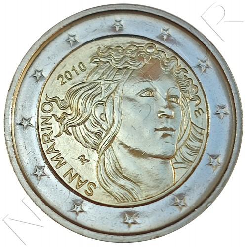 2€ SAN MARINO 2010 - SANDRO BOTTICELLI (SIN BLISTER)