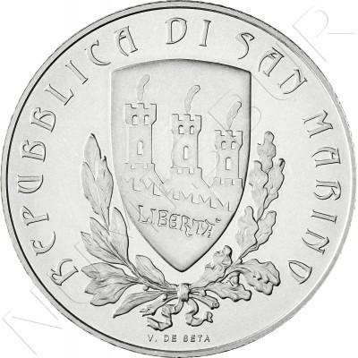 5€ SAN MARINO 2012 - Giovanni Pascoli