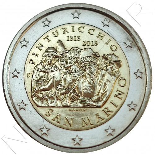 2€ SAN MARINO 2013 - Il Pinturicchio (SIN BLISTER)