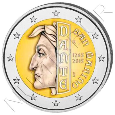 2€ SAN MARINO 2015 - Dante
