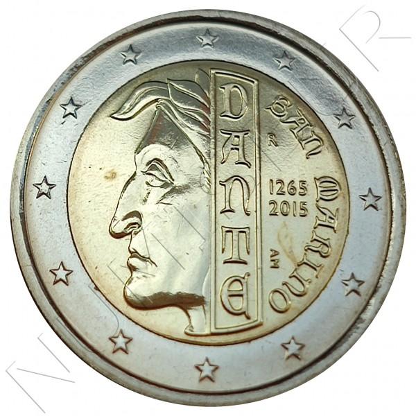 2€ SAN MARINO 2015 - Dante (SIN BLISTER)