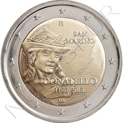 2€ SAN MARINO 2016 - Donatello