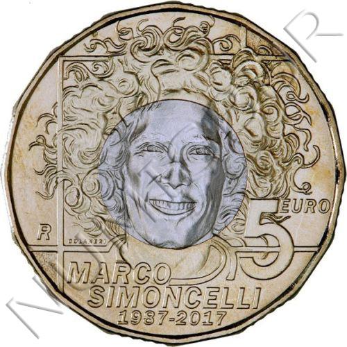 5€ SAN MARINO 2017 - Marco Simoncelli