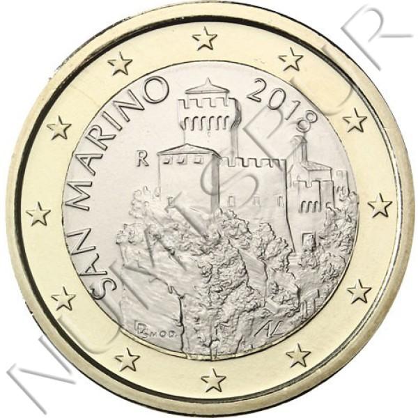 1€ SAN MARINO 2018 - Circulant