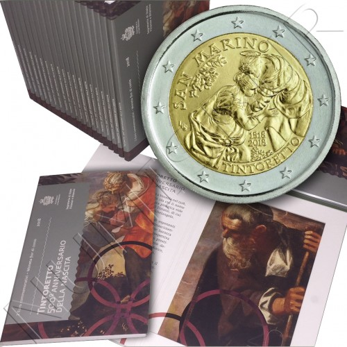 2€ SAN MARINO 2018 - Tintoretto