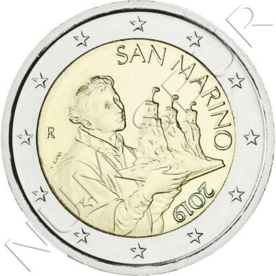 2€ SAN MARINO 2019 - Circulating
