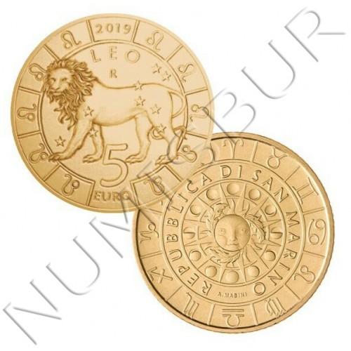 5€ SAN MARINO 2019 - Leo