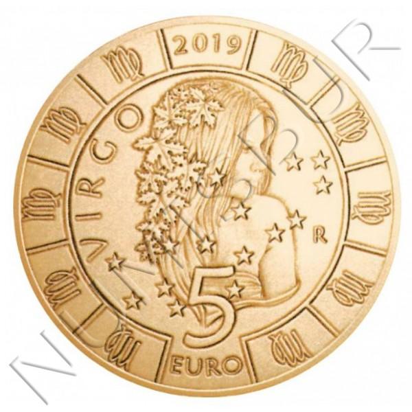 5€ SAN MARINO 2019 - Virgo
