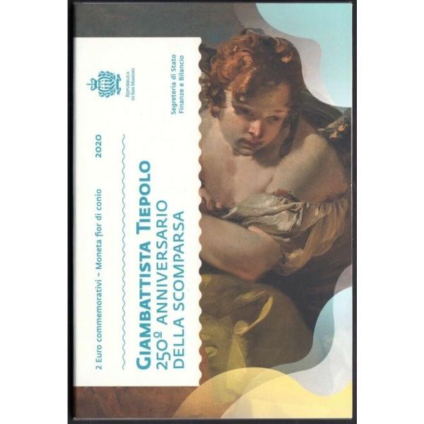 2€ SAN MARINO 2020 - Giambattista Tiepolo