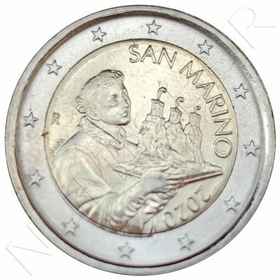 2€ SAN MARINO 2020 - Circulating