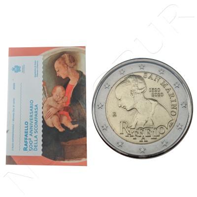 2€ SAN MARINO 2020 - Raffaello