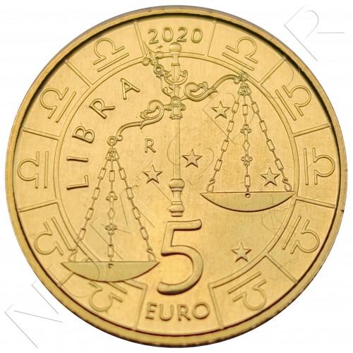5€ SAN MARINO 2020 - Libra