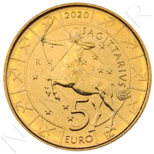 5€ SAN MARINO 2020 - Sagittarius