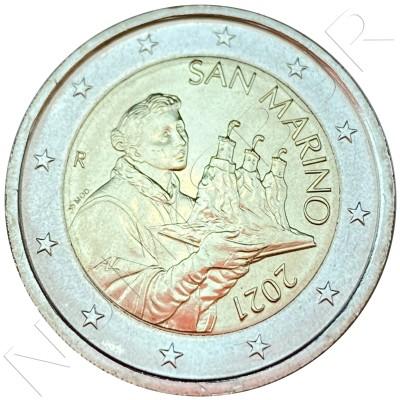 2€ SAN MARINO 2021 - Circulating