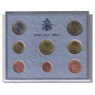 Euroset VATICANO 2003 - Juan Pablo II