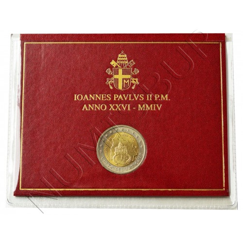 2€ VATICANO 2004 - 75th anniversary of John Paul II