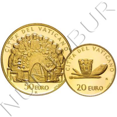 20€ & 50€ VATICAN 2007 - The Sacraments of Christian Initiation