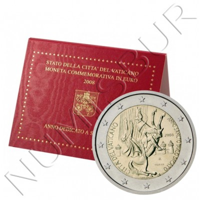 2€ VATICANO 2008 - Year dedicated to Saint Paul