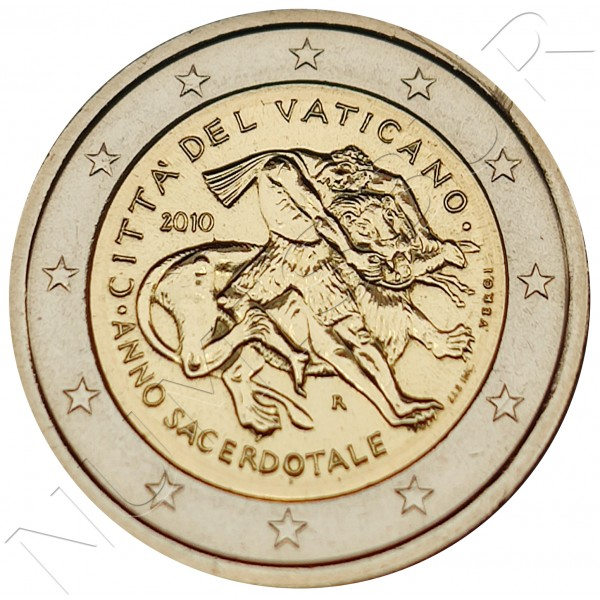 2€ VATICANO 2010 - Priestly year (SIN BLISTER)