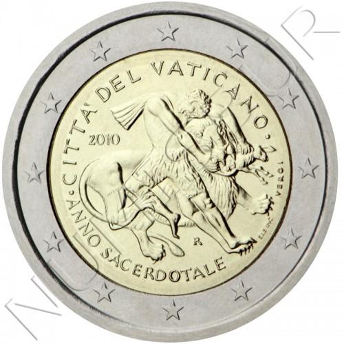 2€ VATICANO 2010 - Año sacerdotal