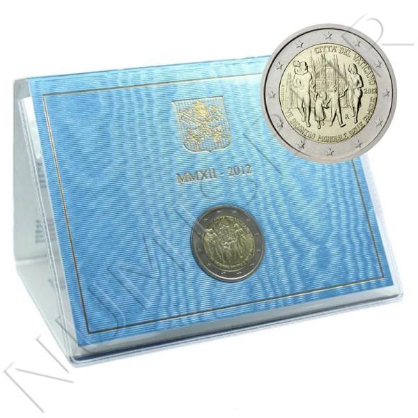 2€ VATICANO 2012 - VII Encuentro mundial de las familias