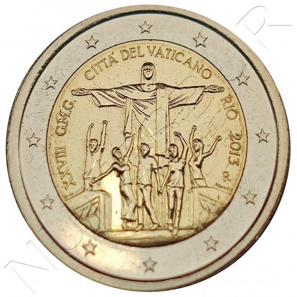 2€ VATICANO 2013 - XXVIII World Youth Day