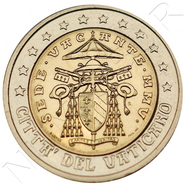 2€ VATICANO 2013 - Sede vacante (SIN BLISTER)