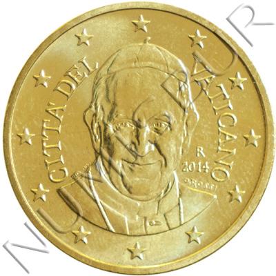 50 centimos VATICANO 2014