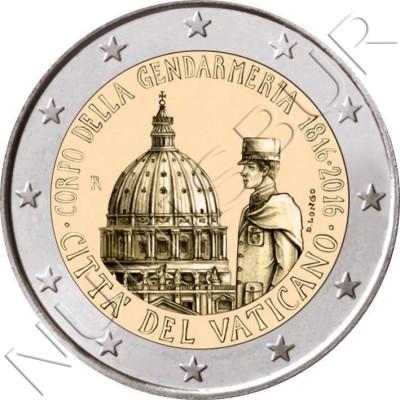 2€ VATICANO 2016 - Gendarmeria Vaticana