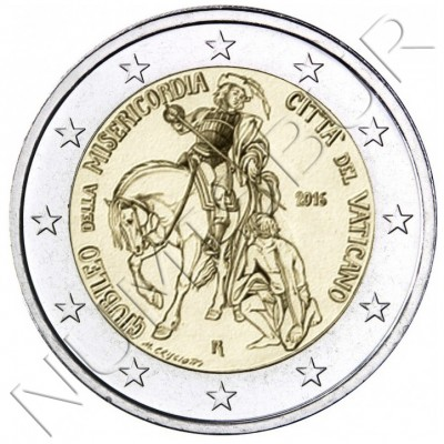 2€ VATICANO 2016 - MISERICORDIA