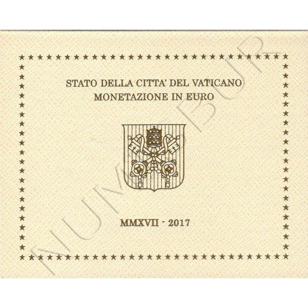 Euroset VATICAN 2017 - Pope Francis BU