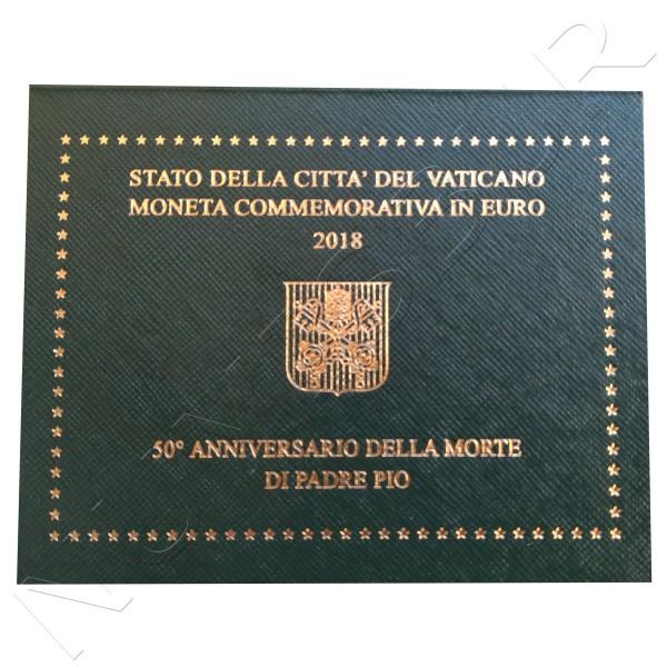 2€ VATICANO 2018 - 50 aniv. muerte padre Pio