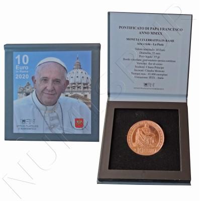 10€ VATICANO 2020 - Pontificate Pope Francis MMXX