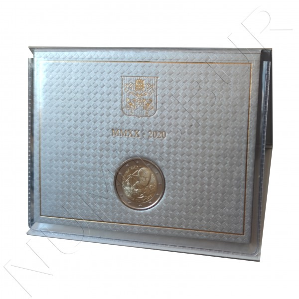 2 € VATICAN 2020 - Centennial birth of Saint John Paul II